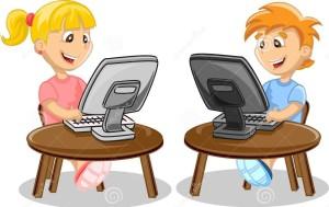 children-computer-illustration-picture-37082559